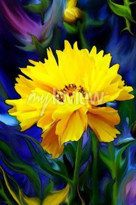 Papiers peints Słoneczny Kwiat