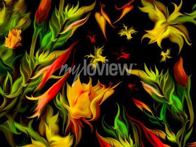 Papiers peints Zwiewne Kwiaty