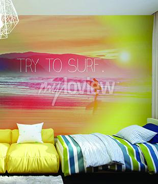Papiers peints Essayez de Surf