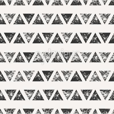 Résumé, seamless, modèle, estampillé, triangulaire, formes