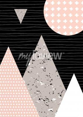 Motifs de points et éléments géométriques