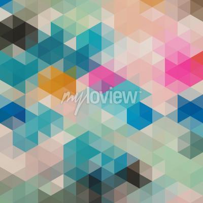 Papiers peints Triangles géométriques 1