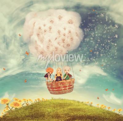 Papiers peints Ballon magique