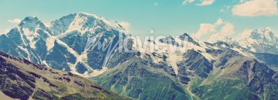 Papiers peints Hiver, montagnes, panorama