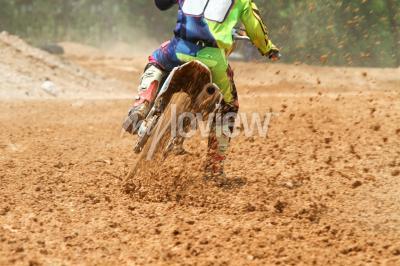 Papiers peints Dirt, débris, motocross, course