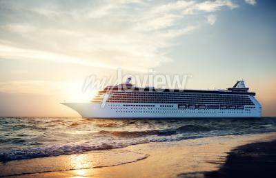 Papiers peints Yacht bateau de croisière Sea Ocean Tropical Scenic Concept