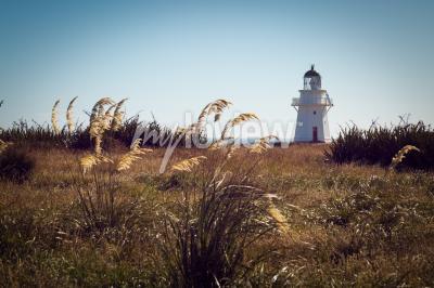 Papiers peints Historique, phare, Waipapa, Point, Catlins, nouveau, Zélande