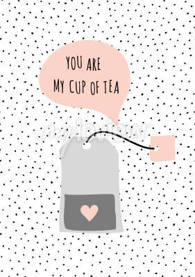 Image Message Vous êtes ma tasse de thé