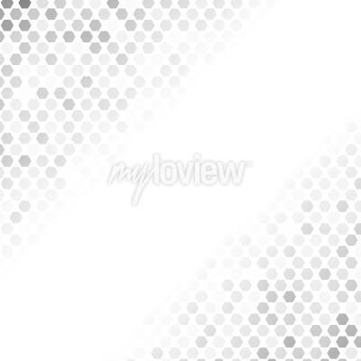 Sticker Motif gris abstrait