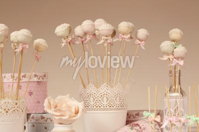 Papiers peints Cake pops