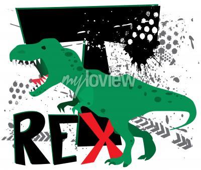 Papiers peints Dangereux t-rex