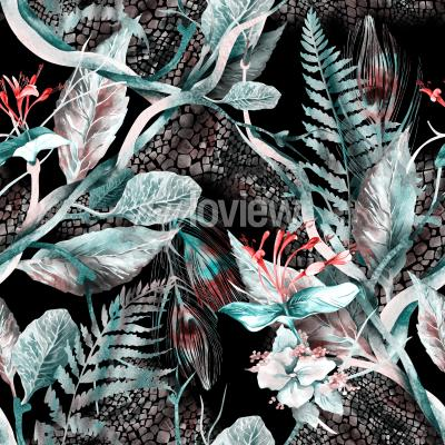 Image Floral Seamless Pattern