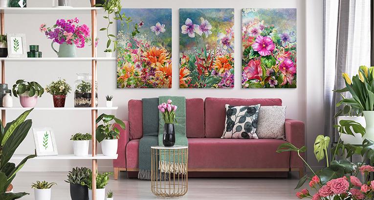 Les décorations d'intérieur de printemps – découvrez comment rafraichir votre