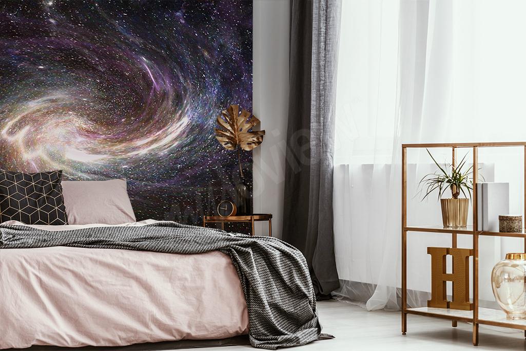 Les décorations murales motif galaxy, une superbe interaction avec les autres éléments de votre design