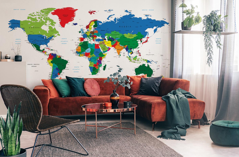 Papier peint du monde