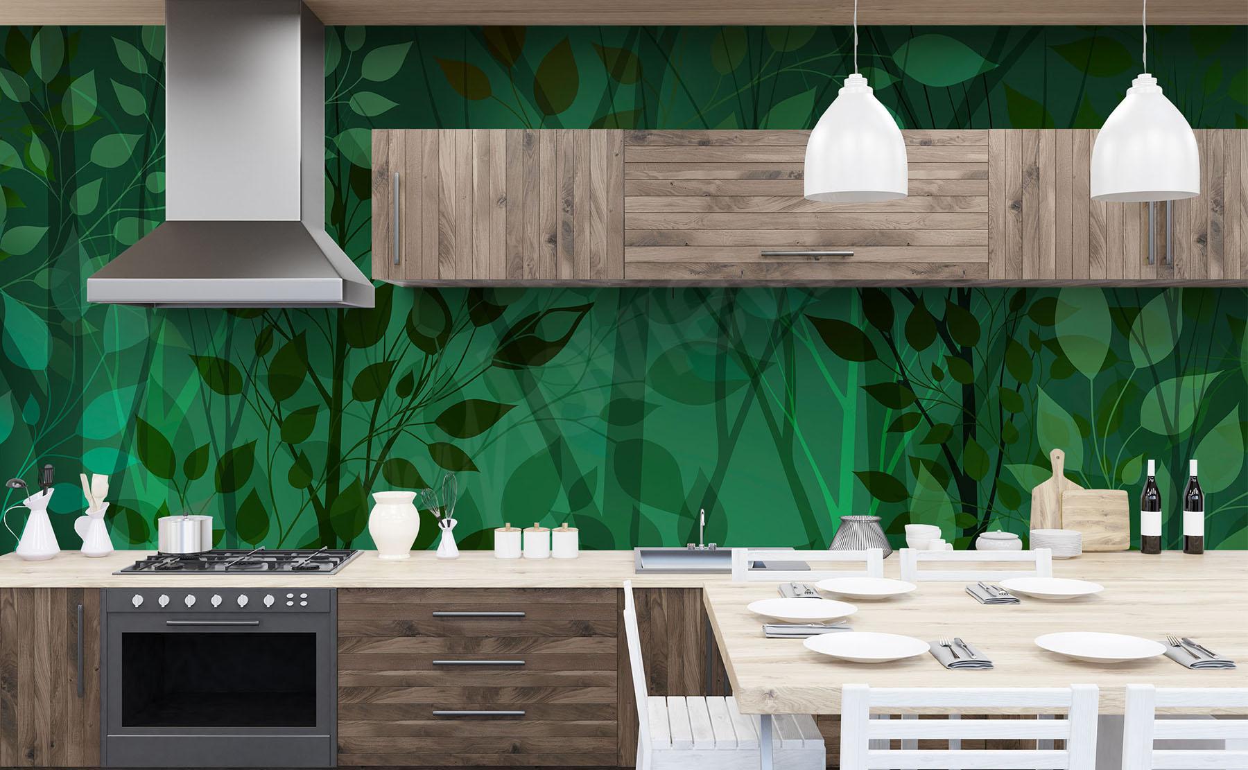 Papiers peints verdure u mur aux dimensions myloview