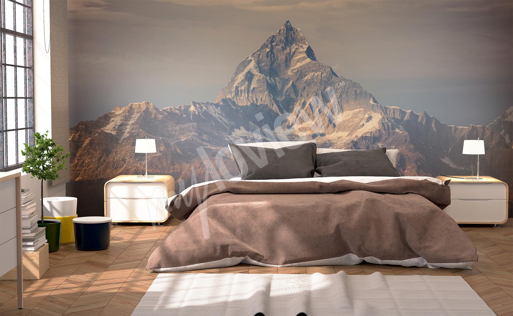 Papiers peints Montagnes •mur aux dimensions | myloview.fr