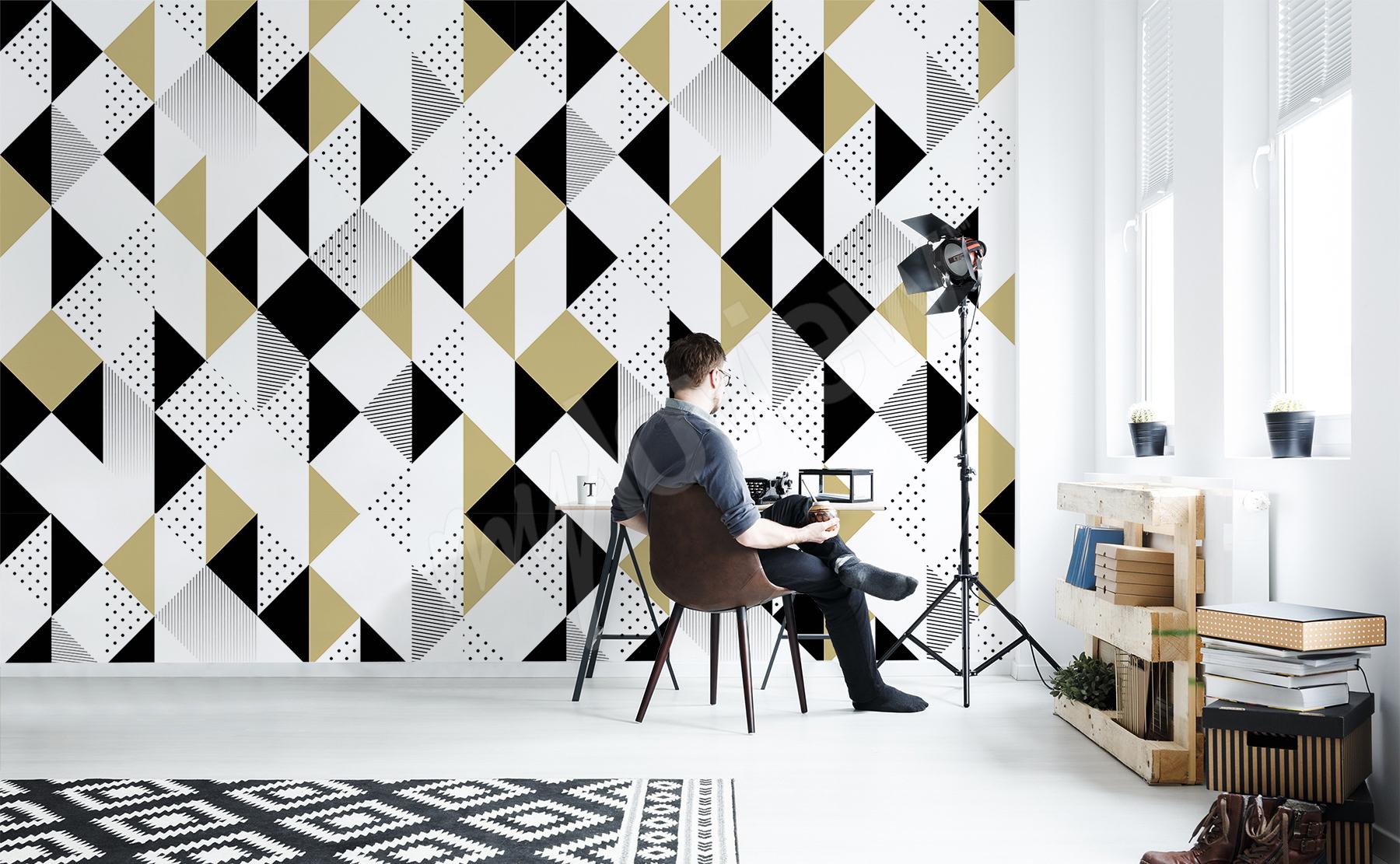Papiers peints Motifs •mur aux dimensions | myloview.fr
