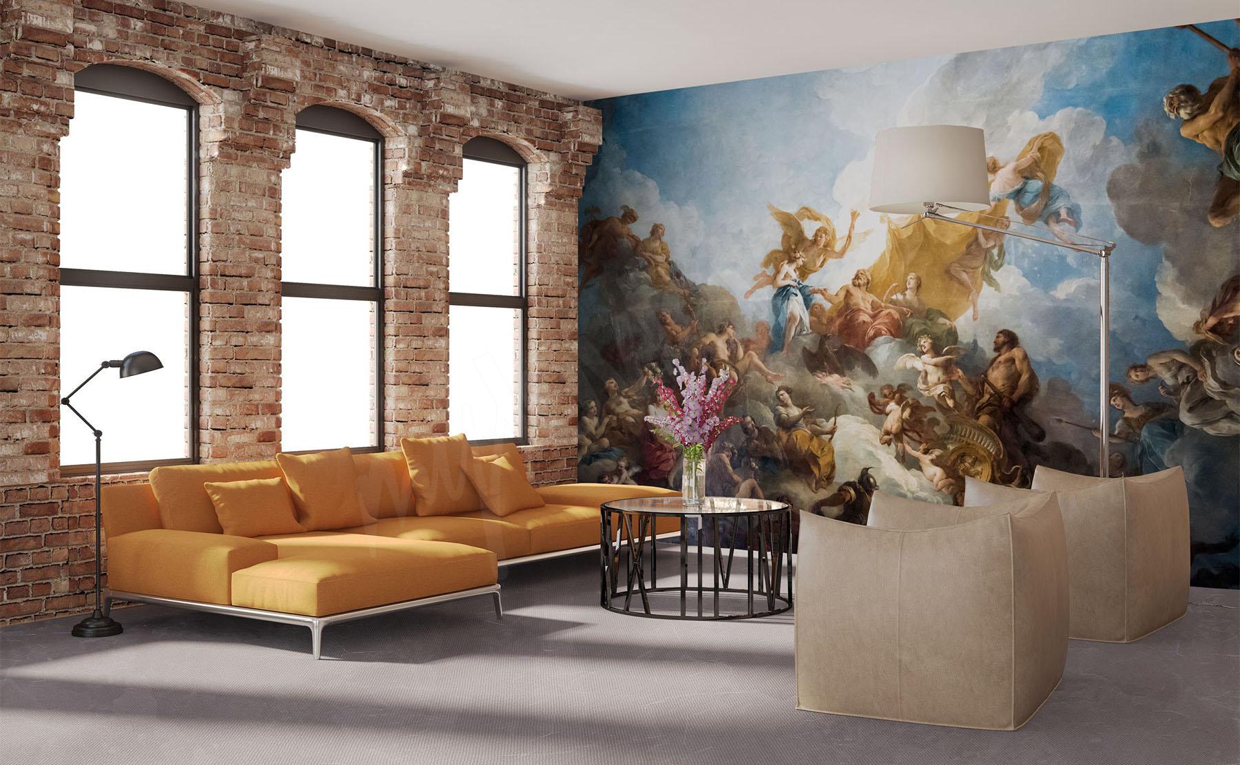 papiers peints paris mur aux dimensions. Black Bedroom Furniture Sets. Home Design Ideas