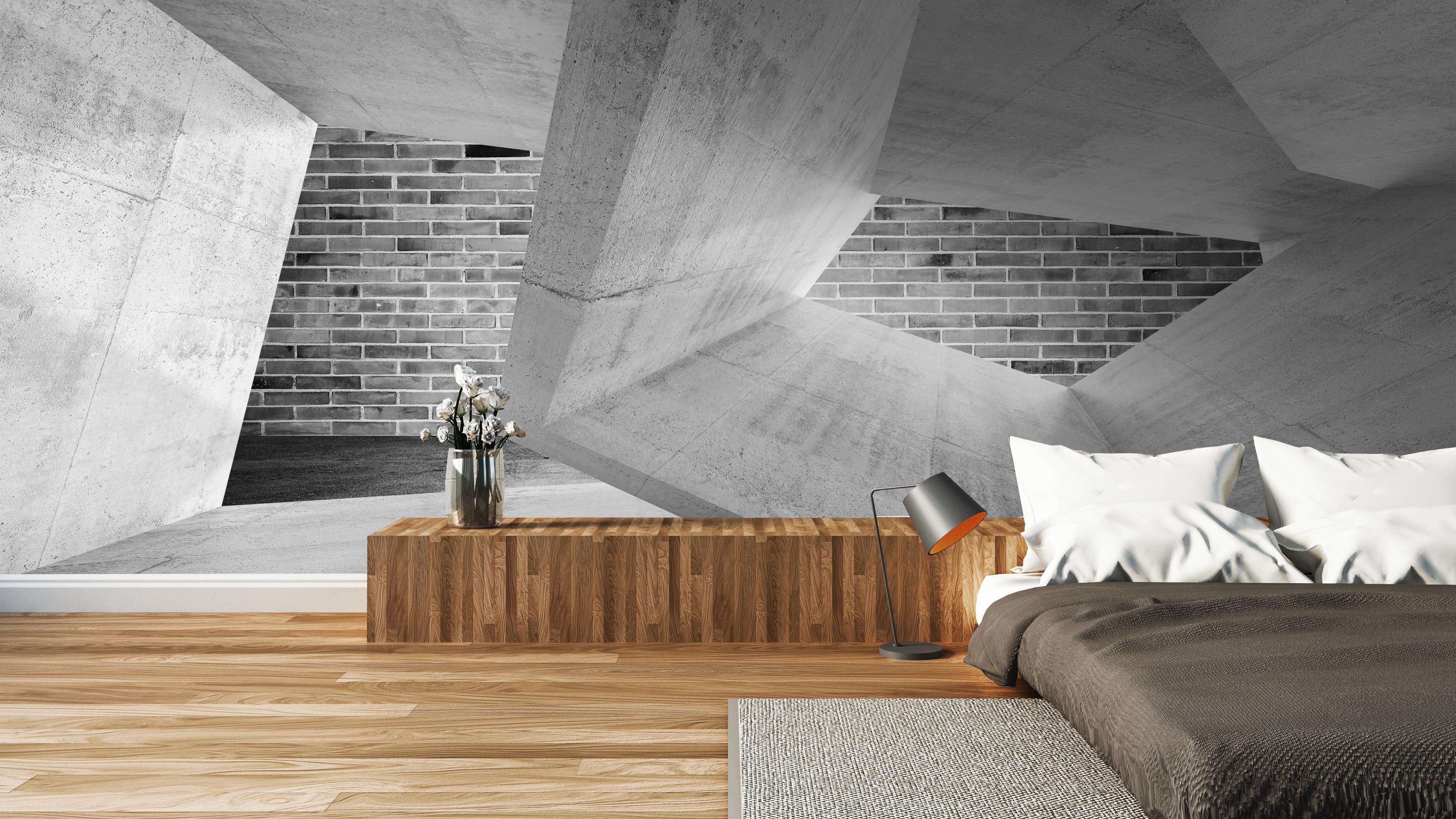 Papier Peint Chambre Moderne papiers peints espace •mur aux dimensions | myloview.fr