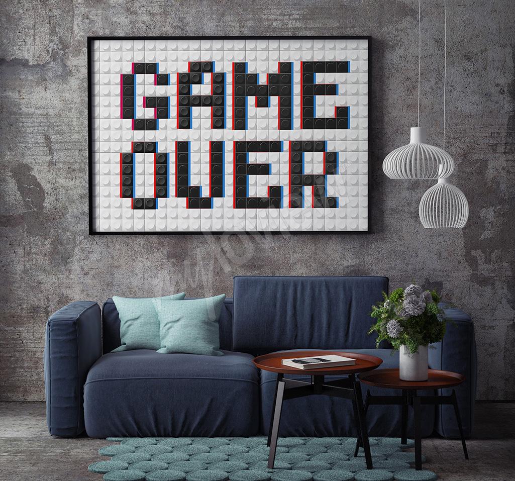 Poster jeux retro