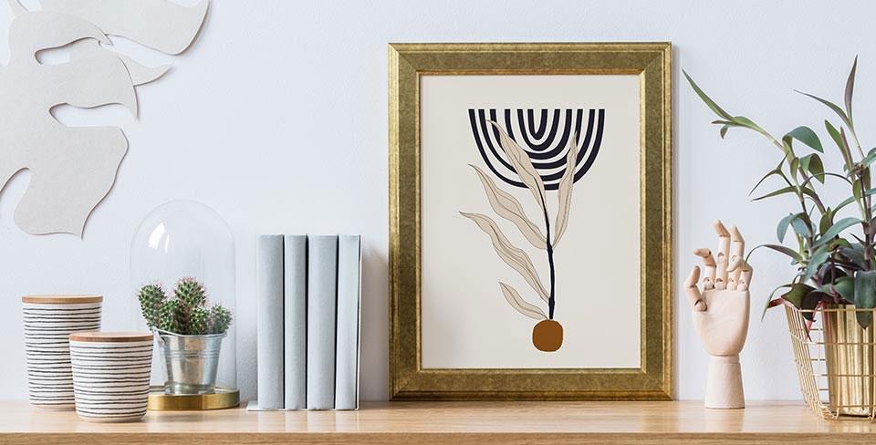 Poster minimaliste boho