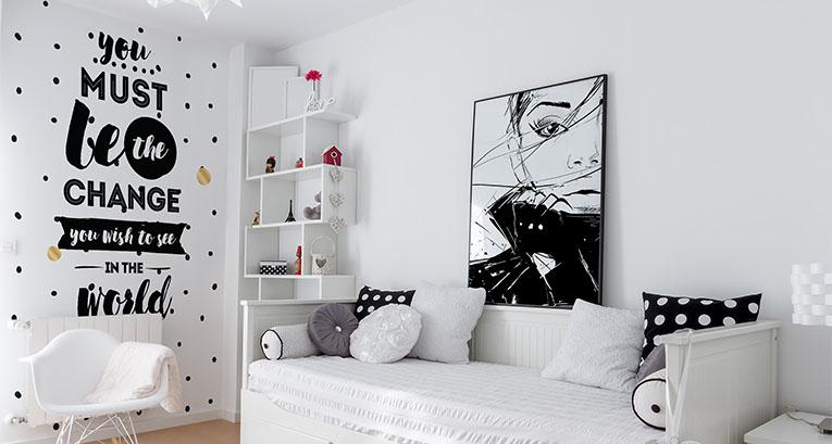 Comment décorer une chambre d'ado? Voici 4 propositions!