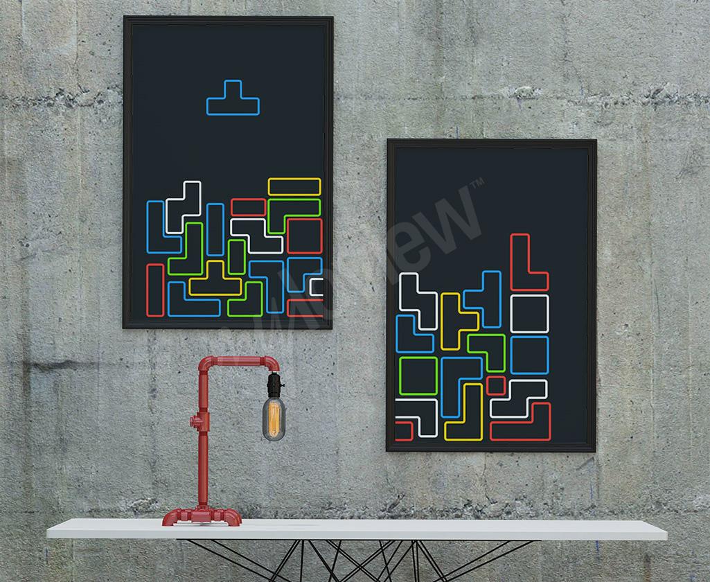 Tetris affiche