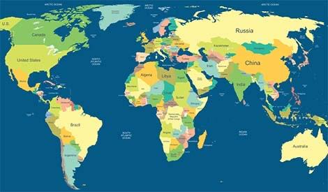Carte géopolitique