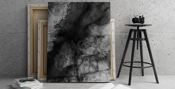 Image abstrait noir