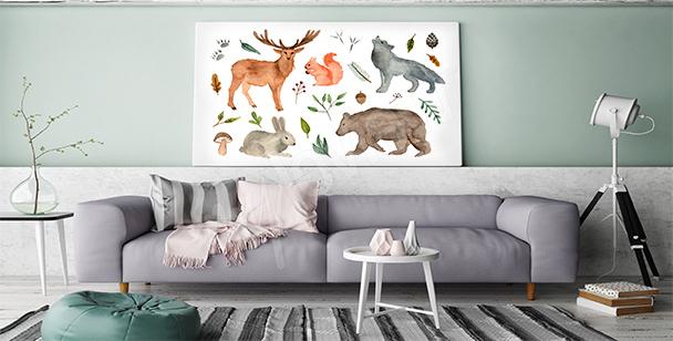 Image animaux de la forêt