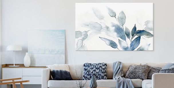 Image aquarelle floral style