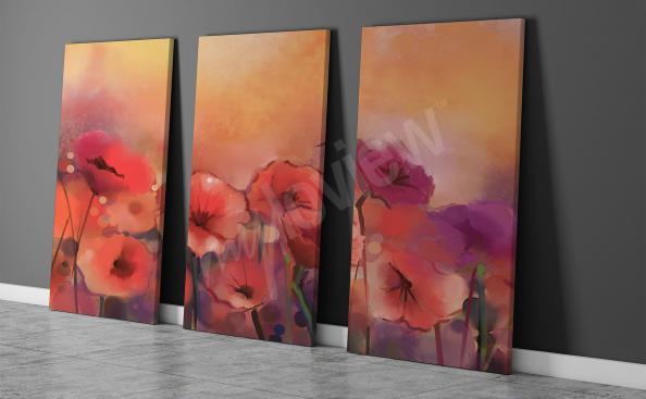 Image aquarelles fleurs