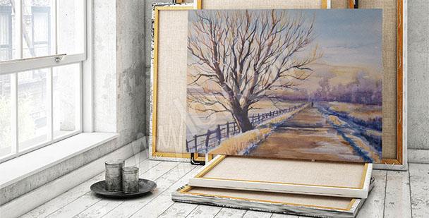 Image arbre – paysage