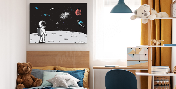 Image atterrissage sur la lune
