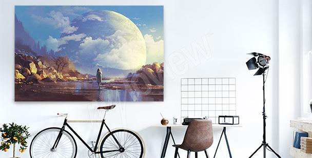 Image avec la lune