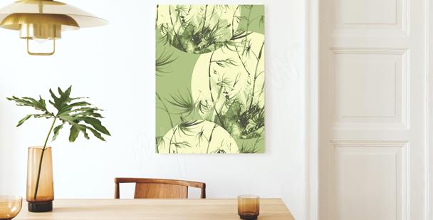 Image bambou couleur pastel