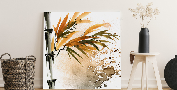 Image bambou pour salon