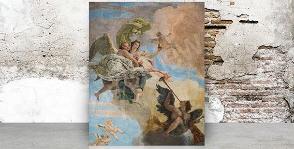 Image baroque fresque