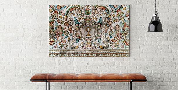 Image baroque pour salon