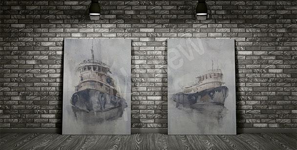 Image bateaux mystérieux
