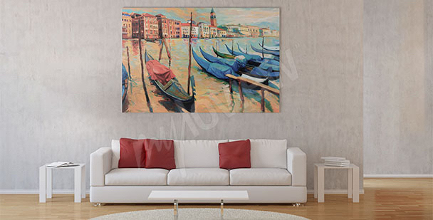 Image bateaux vénitiens