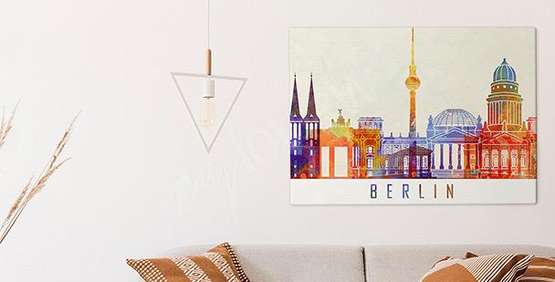 Image Berlin à l'aquarelle