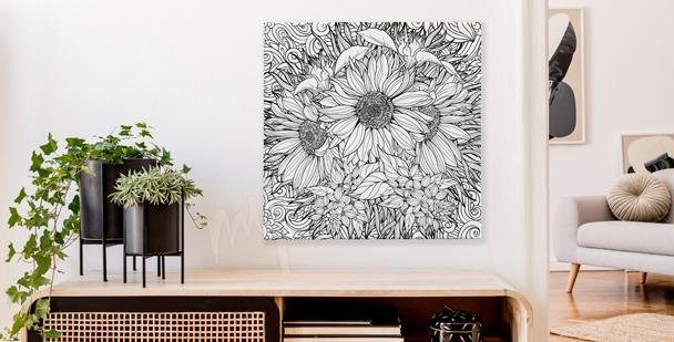 Image fleur de tournesol