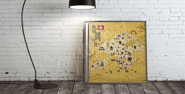 Image carte de Hongkong