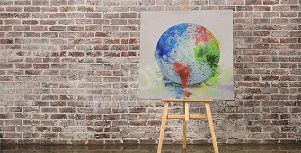 Image carte de la Terre