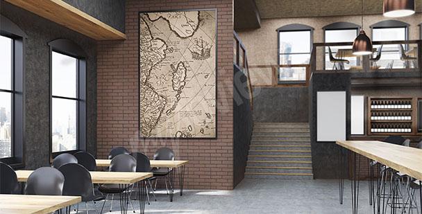 Image carte du monde ancienne