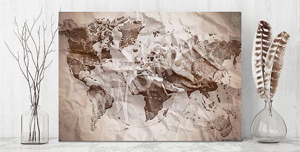 Image carte en papier
