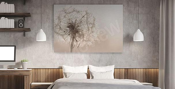 Image chambre à coucher pissenlit
