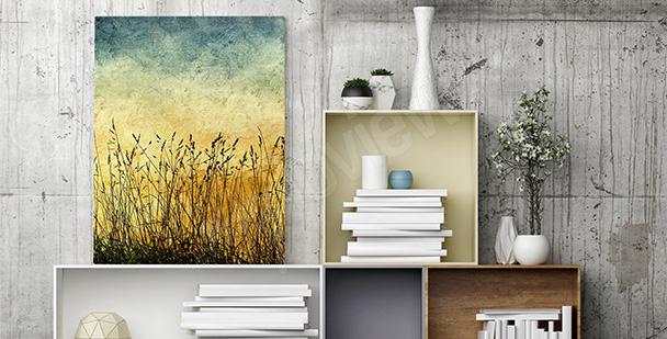 Image nature fleurs minimal